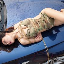 No.00687 Hijack Female Soldier II #3 [24Pics] また縛リ芸術の女戦士よ、この特別な緊縛画像シリーズいつも注目しているありがとう、今回もごゆくり。