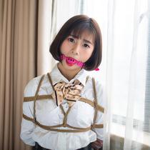 No.00750 Innocent Girl #2 女子高校生Taylaちゃんの新しい下着緊縛画像ですよ、 きれいな股縄と猿轡(玉口枷)、やっぱりこれが好きです。