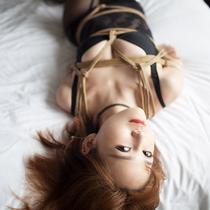 No.00829 Black Rose #2 [26Pics] Nozomiさんの全身タイツ緊縛画像はなかなかいいですね、特に股縄の部分、大好きだわ~