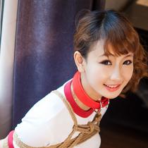 No.00838 Funny Experience #1 [27Pics] 女子高校生Maiyaちゃんのブルマ緊縛画像はちょっと好きです、縛られても彼女は微笑んでいます、首輪もいます。