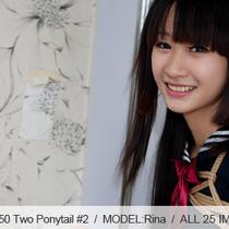 No.00350 Two Ponytail #2 [25Pics] 可愛いツインテールのセーラー服女子高生はまた調教されました、あの放課後緊縛時間は楽しです。