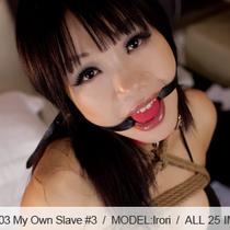 No.00403 My Own Slave #3 このビキニ着ている女子は緊縛専用の奴隷だな、股縄はきづようだ、もちろん屈脚固定(屈脚梯子縛り)と首輪と玉口枷