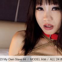 No.00423 My Own Slave #4 暗いビキニ着ている女の子は緊縛専用の奴隷でいます。股縄と後高手小手縛りはきづようだ、もちろん屈脚固定 と首輪と