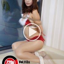 Vol.113s 2012 Merry Xmas この活発な女の子はホテルの部屋で彼女は緊縛のクリスマスを祝うなっています。