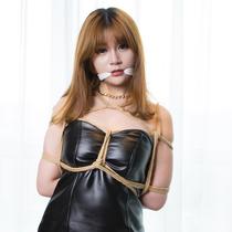 No.00694 Leather Skirt Tamagoさん逆さ海老縛りは初めてですね、こんなに緊縛調教いっぱい欲しいだっても初めてです、やはり布猿轡も必要がある。