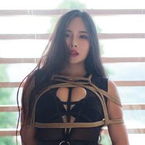 No.00834 Black Desire #2 [34Pics] この34枚緊縛画像は大満足でしょう。Rinkoさんの黒いセクシーランジェリーと麻縄はやばりいいですね。