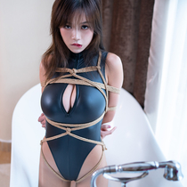 No.00846 The Bathtub #1 [24Pics] Arinaさんの黒いレオタードなかなかいいじゃない、緊縛画像と似合おうなあ~