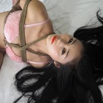 No.00887 Hairy Pink #3 [26Pics] これはAyanaちゃんピンク下着最後のセットです、いい緊縛画像でしたな。