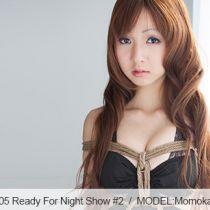 No.00505 Ready For Night Show #1 ナイトクラブの女の子は緊縛ショーのために練習している。菱縄縛り